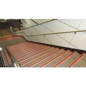 鋁底座止滑條-樓梯實績5 - 芊憓實業有限公司