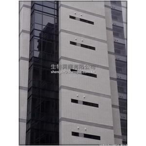 陸江建設三重新建築+建案      F方形防颱旗艦型不銹鋼外氣口 - 生特興業有限公司