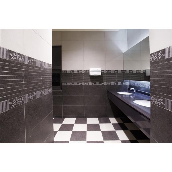 【新永興磁磚】浴室設計黑白系列-新永興磁磚建材行