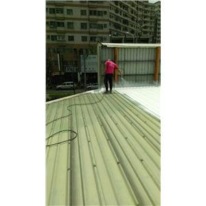 烤漆浪板-防水隔熱工程-誠泰工程行