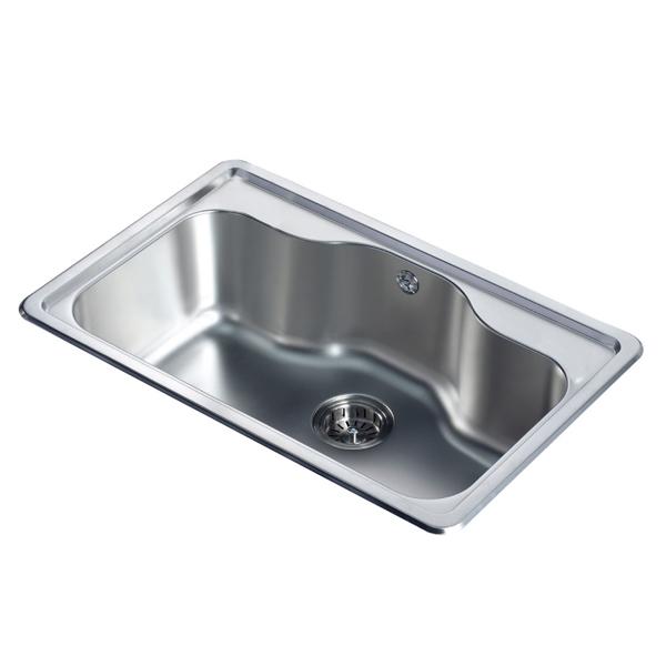 銀離子抗菌不鏽鋼水槽OS-09121A-譜達國際有限公司