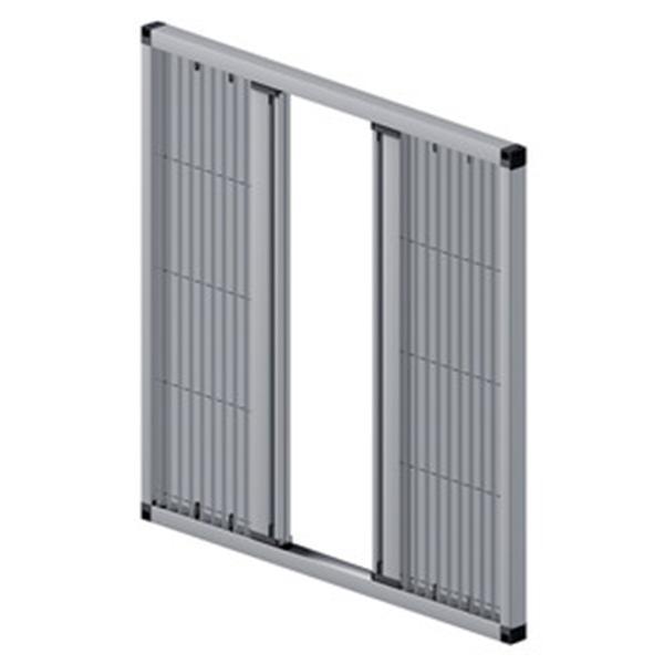 線牵引式折疊纱窗-永翔鋁門窗有限公司