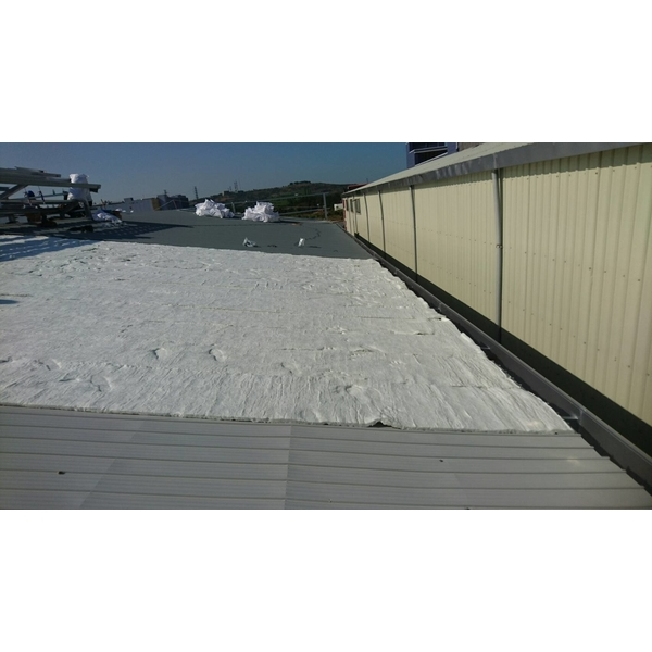 屋頂防火棉施工