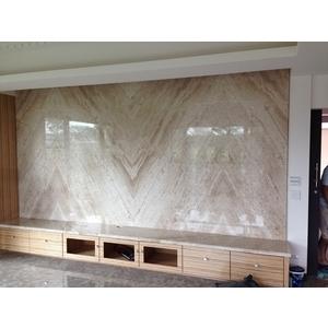 石材電視牆 - 昇品地板石材實業社