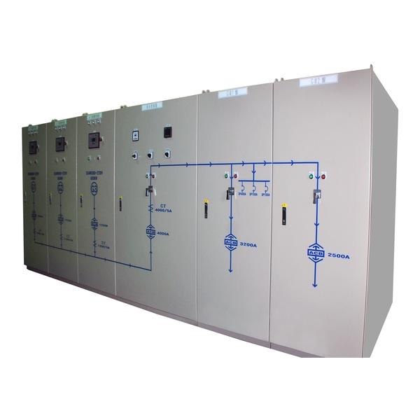 桃園某大百貨公司使用本公司三大發電機併聯盤