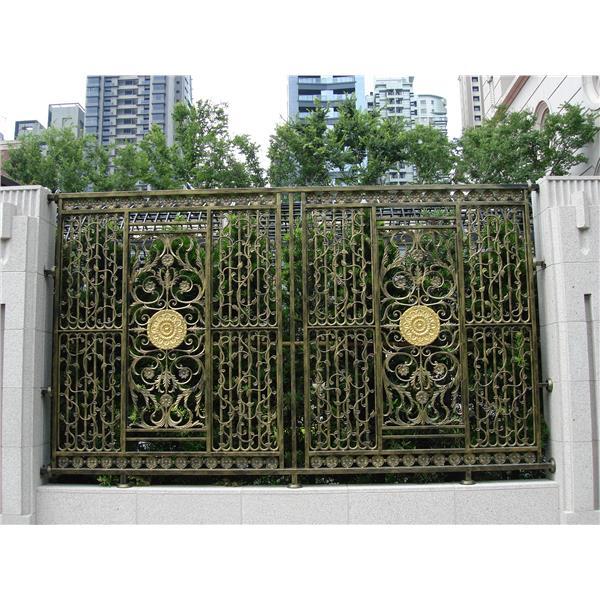 B鑄鋁圍牆欄杆-德義欄杆有限公司