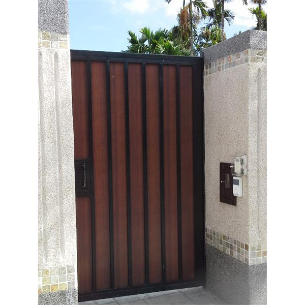 庭院日式門