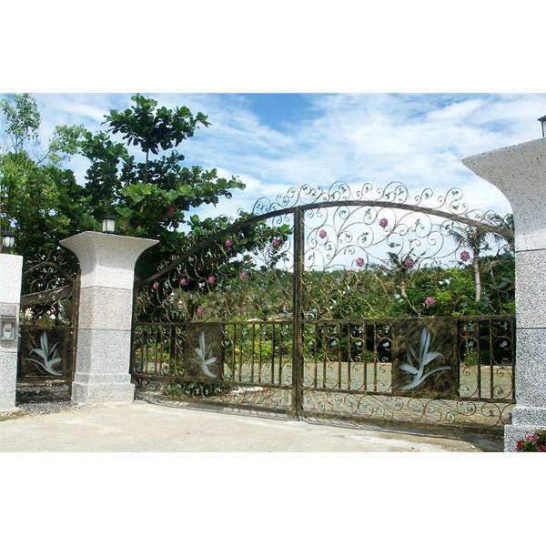 庭院大小門