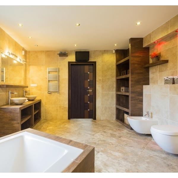 彩雕門應用-浴室