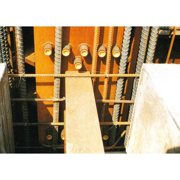鋼構交趾樑焊接續接器