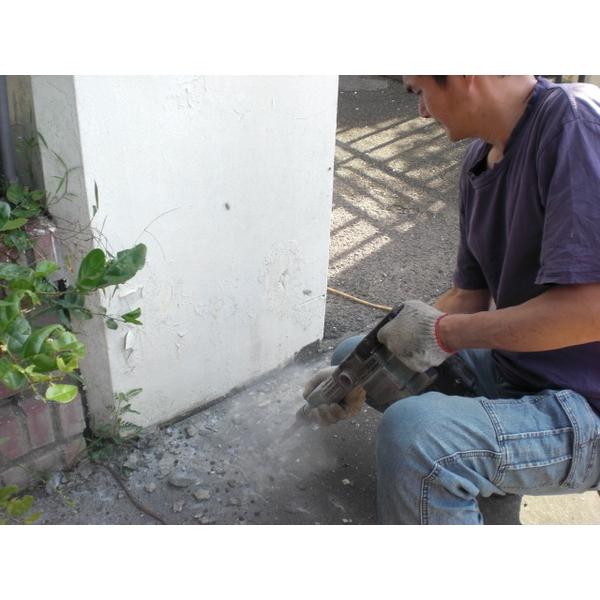 打除防水工程施工