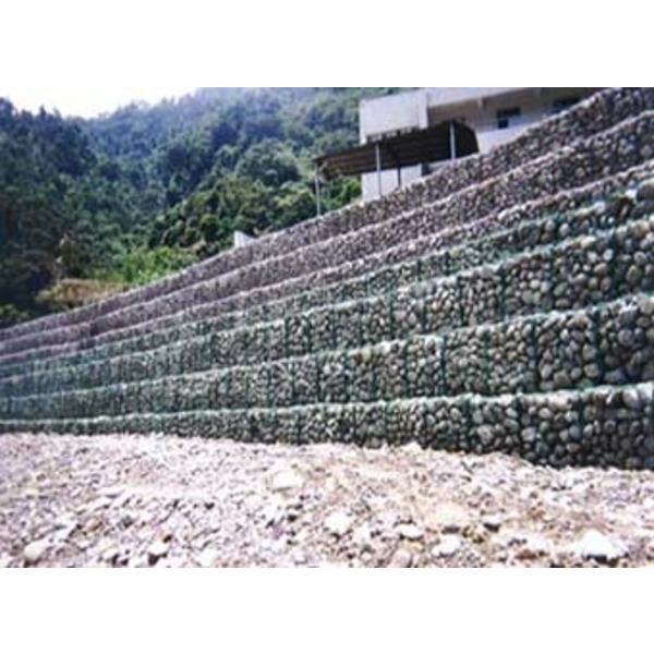擋土護坡系列-高鍍鋅石籠