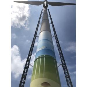 台中高美濕地-塔架升降施工平台 - 立都鷹架有限公司