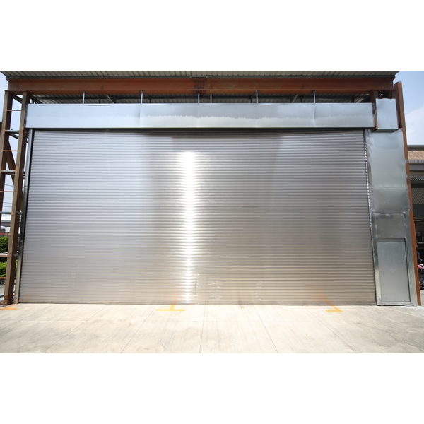 60A超寬防火阻熱電動捲門-穩揚金屬企業有限公司