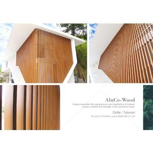 格柵/塑木格柵/圍籬 (環保木材/塑木/WPC) - 杉澤國際有限公司