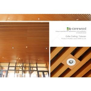 格柵/塑木格柵/卡扣天花/障板 (環保木材/塑木/WPC) - 杉澤國際有限公司