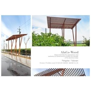 塑木花架/造型花架 - 杉澤國際有限公司