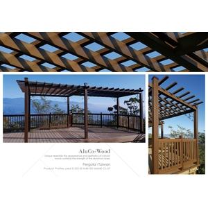 塑木花架/塑木欄杆/戶外地板 - 杉澤國際有限公司
