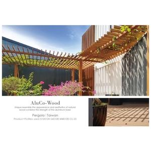 塑木花架/塑木欄杆/地板平台 - 杉澤國際有限公司