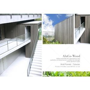 內外牆飾板/壁板/塑木壁板 (環保木材/塑木/WPC) - 杉澤國際有限公司