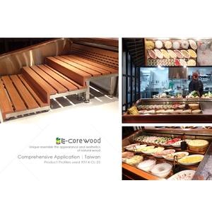 食物架(環保木材/塑木/WPC/無毒/無甲醛/無鉛/無8大塑化劑) - 杉澤國際有限公司