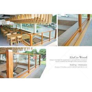 欄杆/柵欄/圍籬/扶手(環保木材/塑木/WPC) - 杉澤國際有限公司
