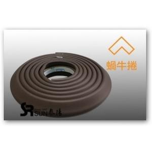橡膠發泡防護條(蝸牛捲) - 泰陽橡膠廠股份有限公司