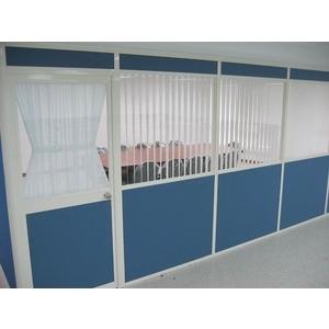 布面中玻隔間 - 優力特裝潢工程有限公司