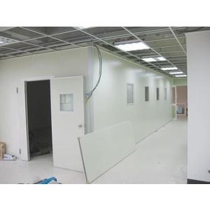 烤漆鋼面庫板燒機室 - 優力特裝潢工程有限公司