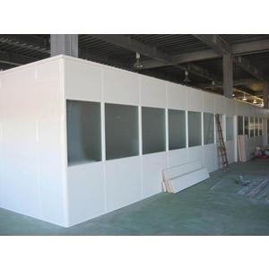 不到頂蜂巢板隔間 - 優力特裝潢工程有限公司