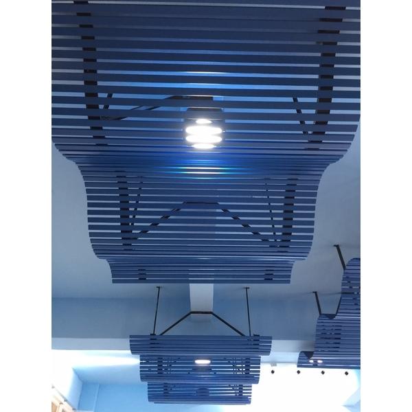 波浪造型鋁天花板-千盟興業有限公司
