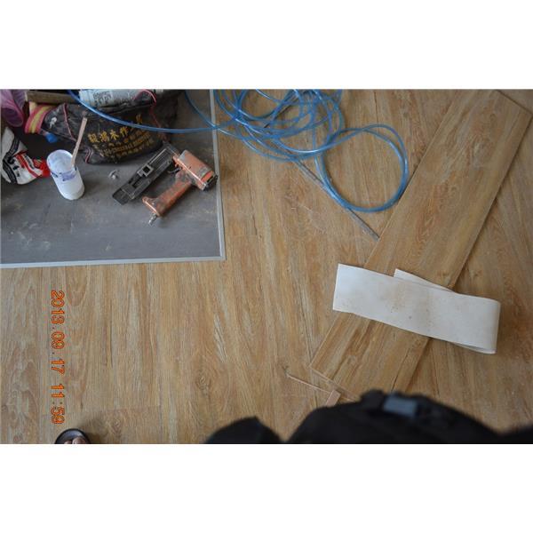 美耐板超耐磨地板 寬頻浮雕太極系列-兩儀