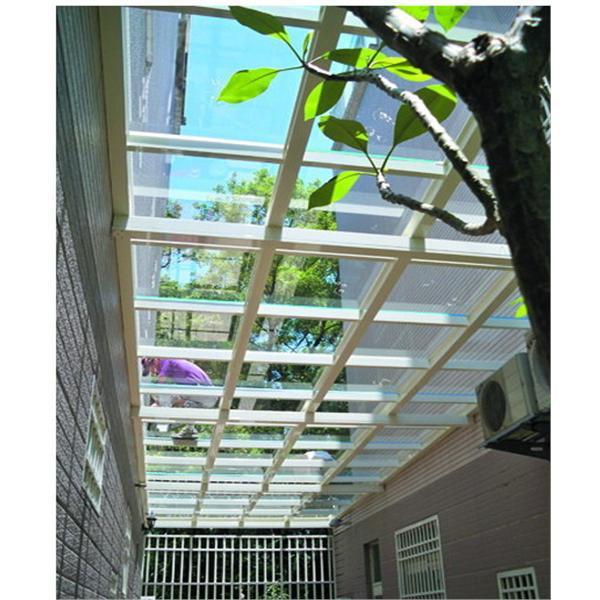 玻璃採光罩-越大建材行