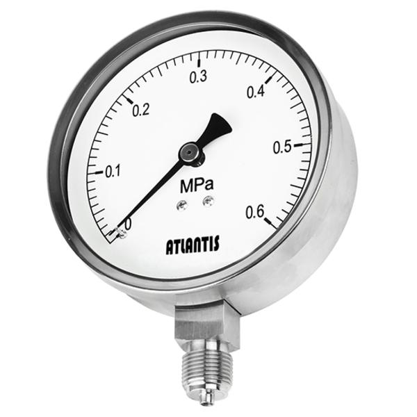 蒸氣用全不鏽鋼壓力錶   SPG-SUS-昶特有限公司