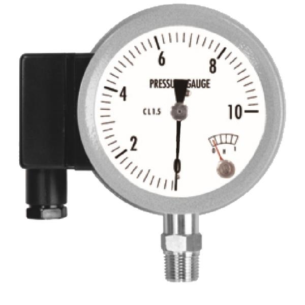 全不鏽鋼接點壓力錶 (微動開關型)   MSPS-昶特有限公司