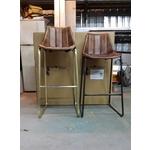 金屬造型吧台椅(銅、鐵、不鏽鋼)