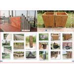連樁、緣石及垃圾桶、洗手台