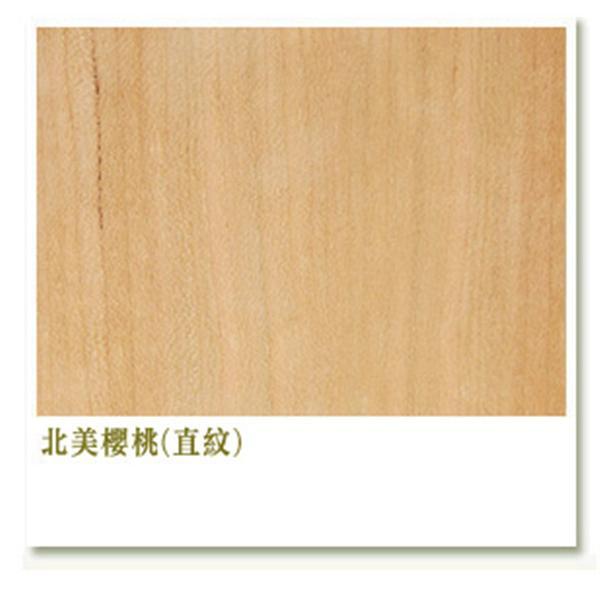 北美櫻桃(直紋)-東昇柚木薄片股份有限公司