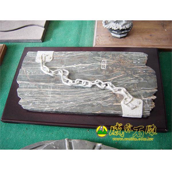 石雕茶盤-威霖石雕工程有限公司