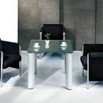 微星多功能時尚玻璃會議桌