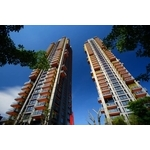 元利建設信義建國南路豪宅- 美國首諾Saflex DG 超硬膜欄杆膠合玻璃建案