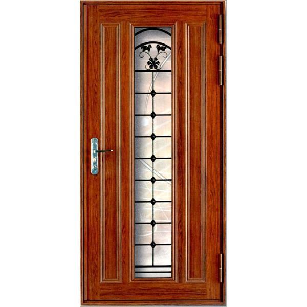 鋁合金藝術玄關門-人京典系統門窗
