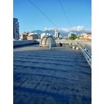 屋頂熱熔毯防水施工2