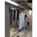 鉛板自動門-施工中III