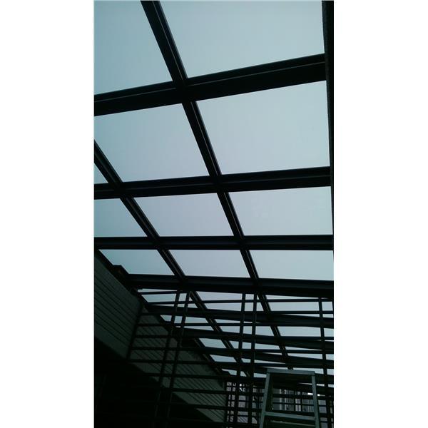採光罩+防盜窗-弘大鋼鋁門窗