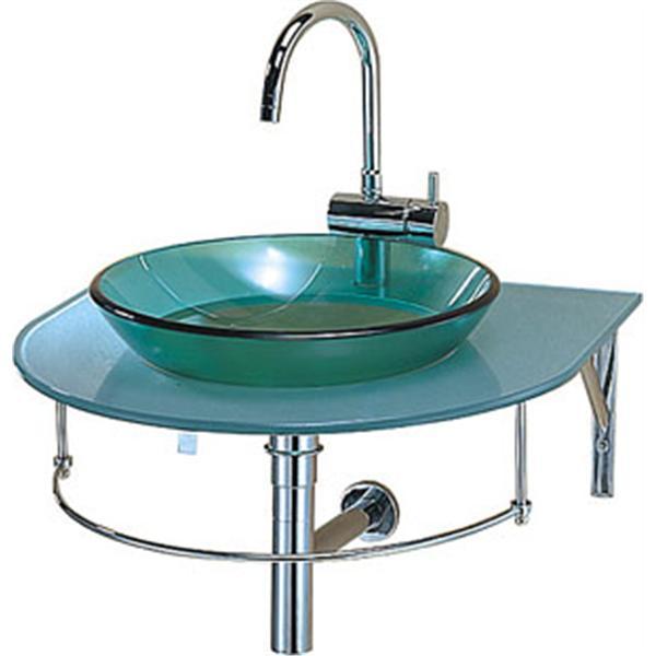 碗型玻璃洗臉盆組 (不含龍頭)-蓮花明鏡有限公司