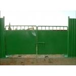 甲種圍籬與大門