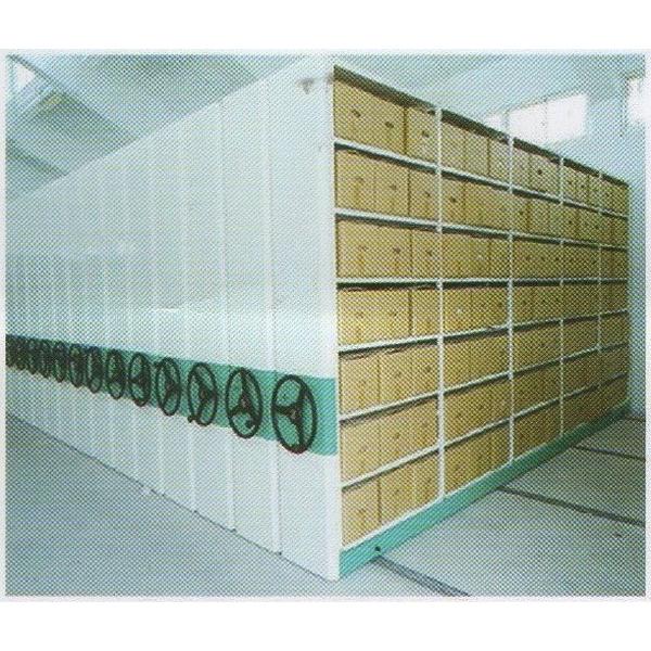 機械式╱電動式移動櫃-一盛角鋼鐵櫃企業股份有限公司