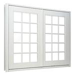 複層玻璃雙推防盜氣密窗(雙推、室外推)