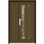 門中門鍍鋅 SDP-1911黃銅砂
